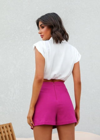 CROPPED CAMISA OFF