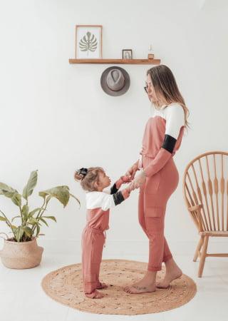 CONJUNTO DUE ROSÊ INFANTIL MENINA