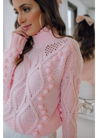 TRICOT GENEVE ROSA