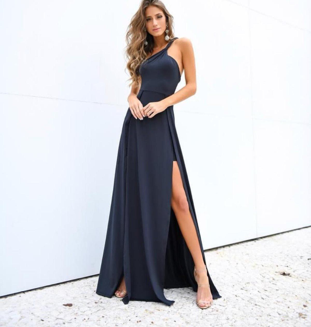 Vestido Alça trançada