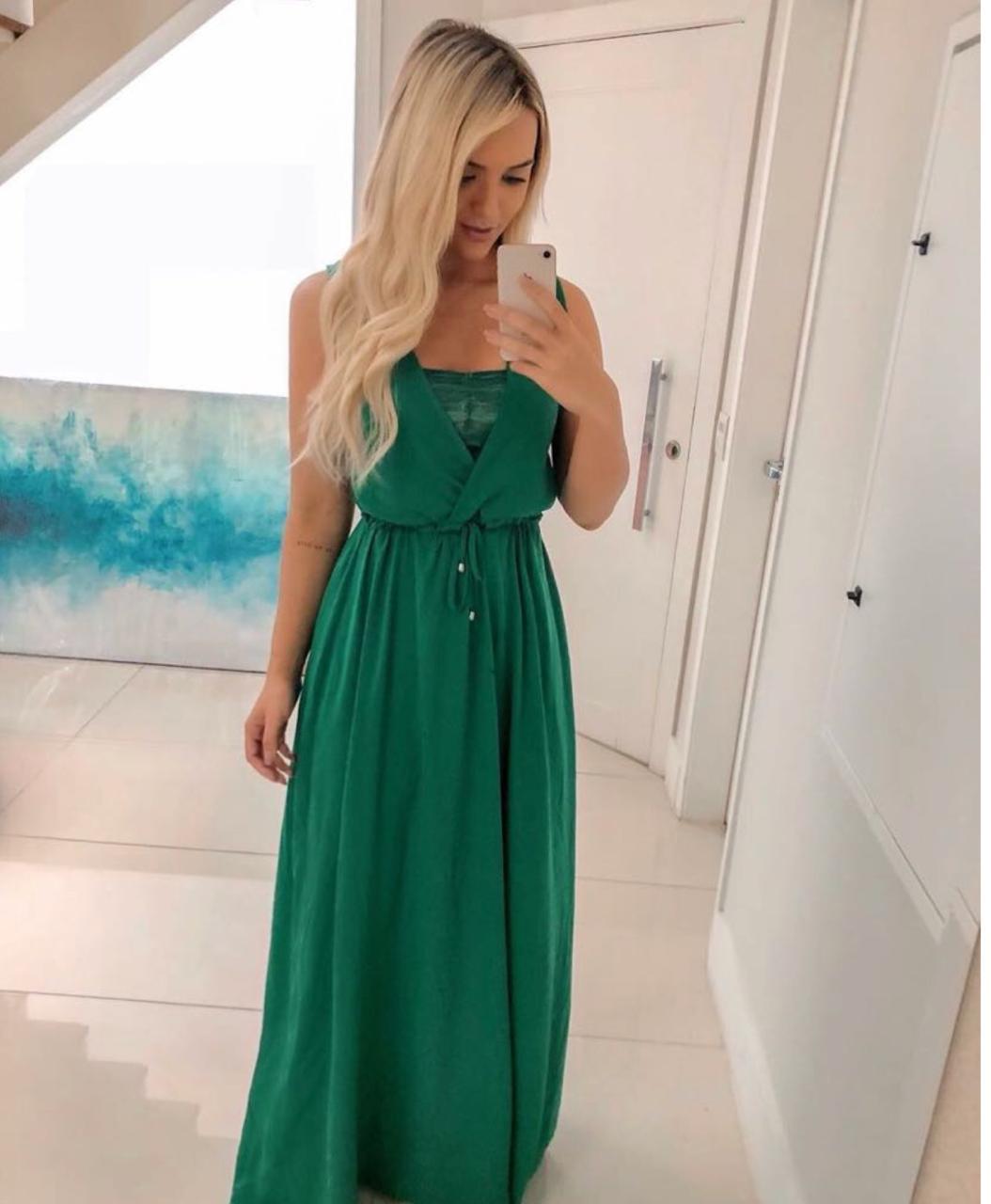Vestido crepe Veneza