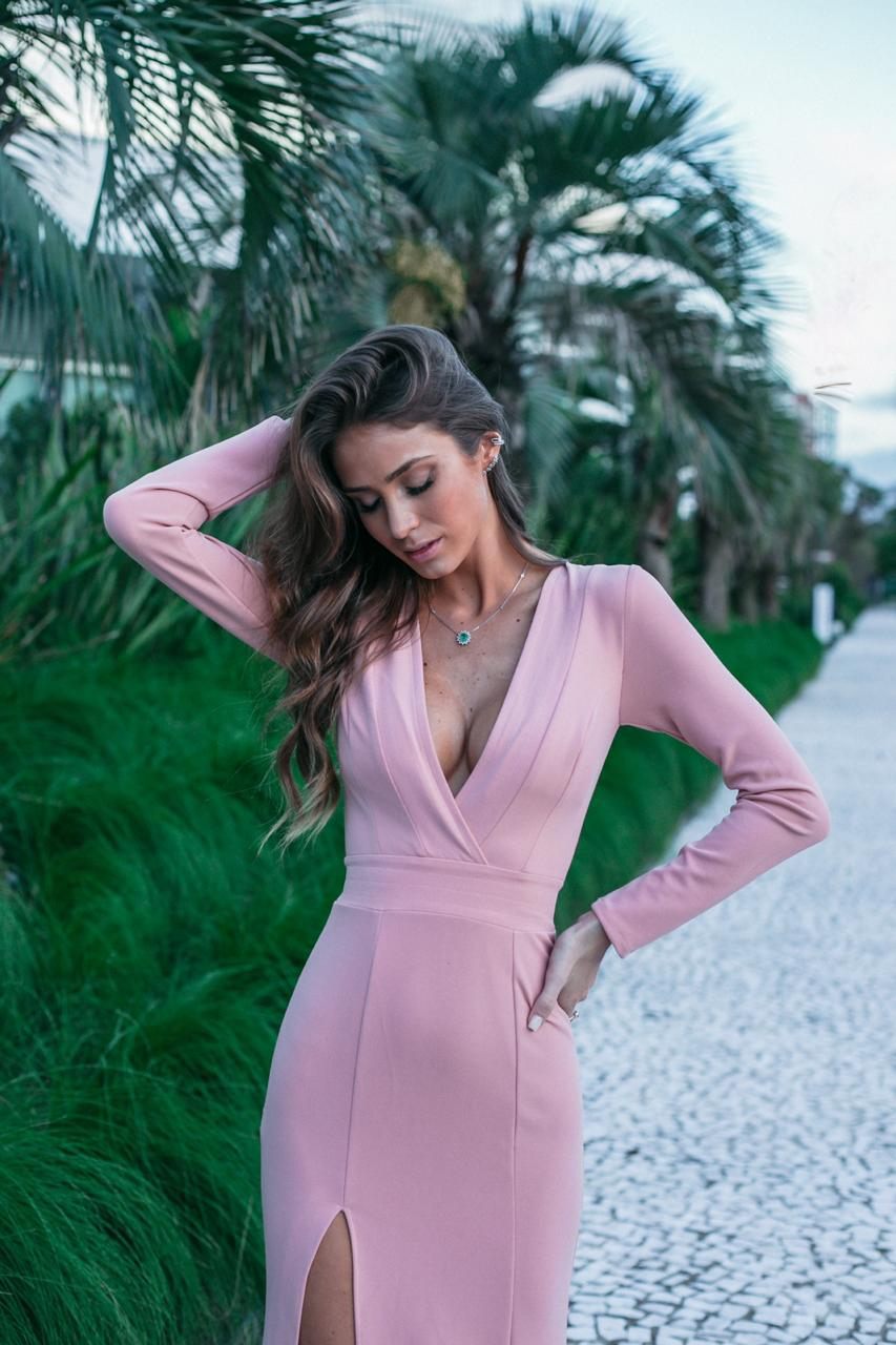 VESTIDO LONGO ELAINE ROSE
