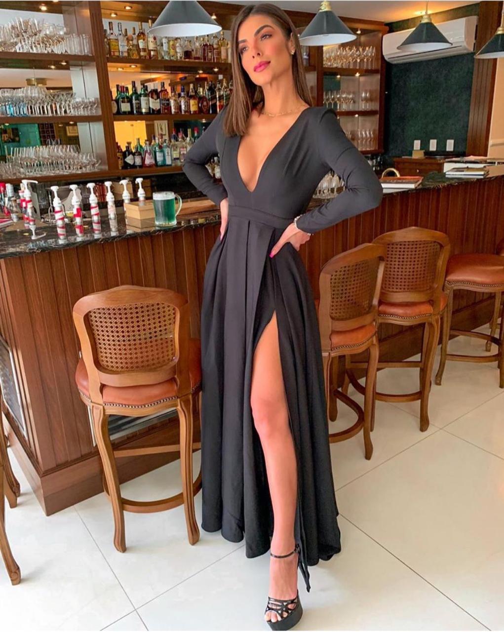 Vestido Longo Luxury